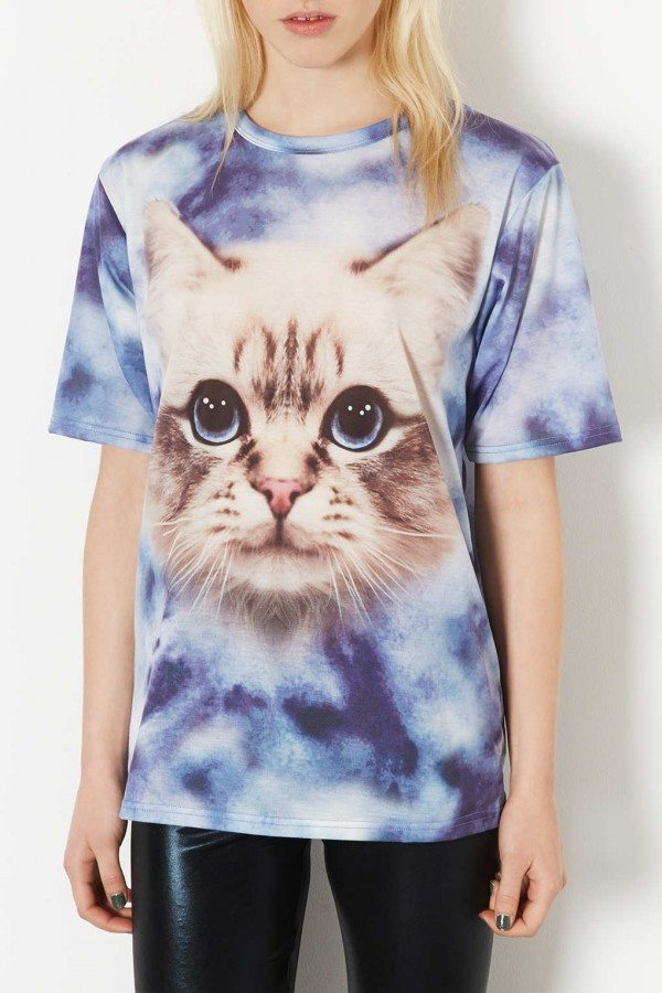 tendencias-camisetas-mujer-2014-gato-top-shop