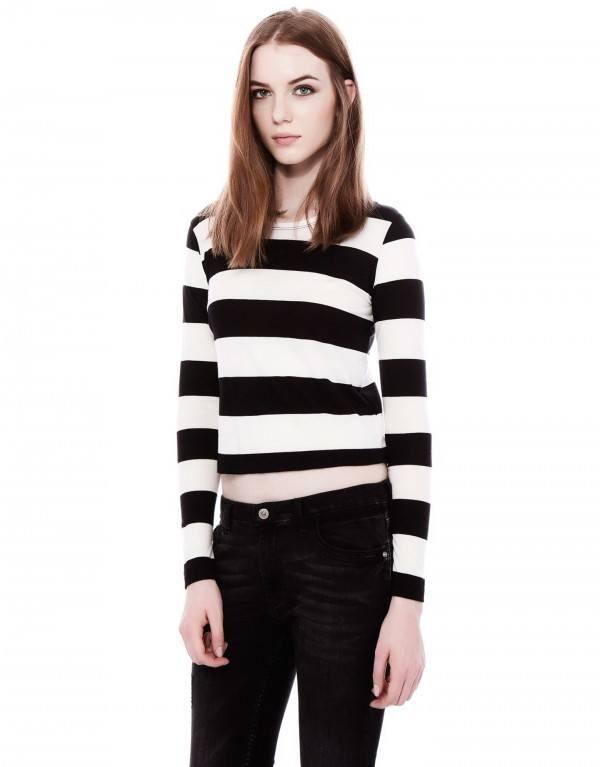 tendencias-camisetas-mujer-2014-rayas-pull&bear