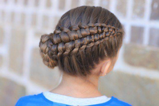 peinados nias comunion 20154 recogido trenzas - Peinados De Ninas