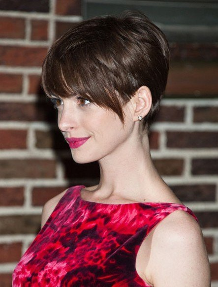 Pixie Haircuts Brown Hair