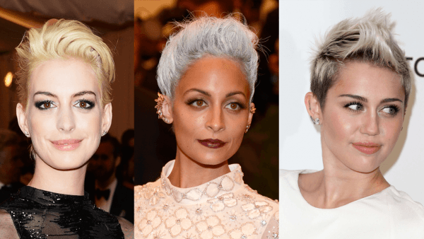 Tonos claros o decolorados para el pelo corto de mujer primavera verano 2015