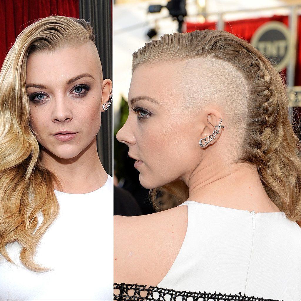 cortes-de-pelo-de-mujer-primavera-verano-2014-pelo-largo-estilo-rapado-natalie-dormer