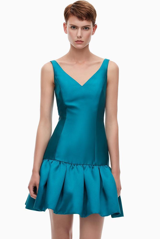 vestidos-de-coctel-2015-vestido-saten-y-tul-adolfo-dominguez