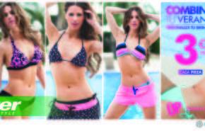 Bikinis 2014 | Vanesa Romero presenta la colección de Sprinter