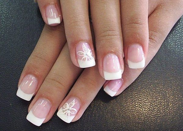 Types-of-nails-decorated-autumn-winter-2014-2015-manicure-French