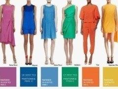 Colores de Moda Primavera Verano 2015