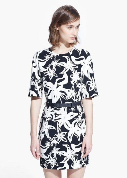 mango-primavera-verano-2015-vestido-mix-blanco-negro-flores