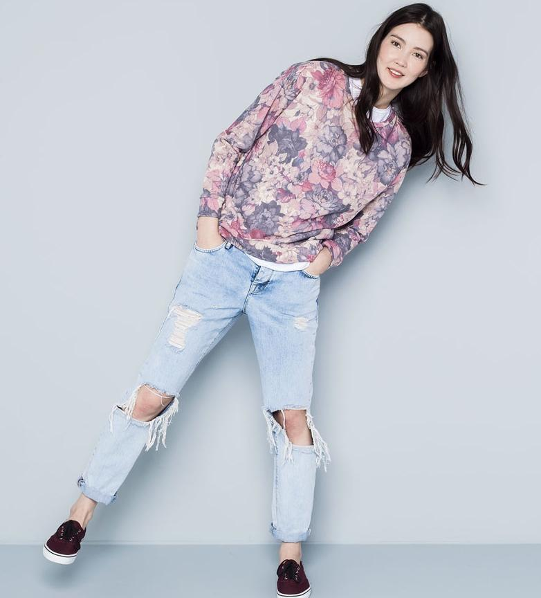 moda-para-adolescentes-2015-sudadera-de-flores