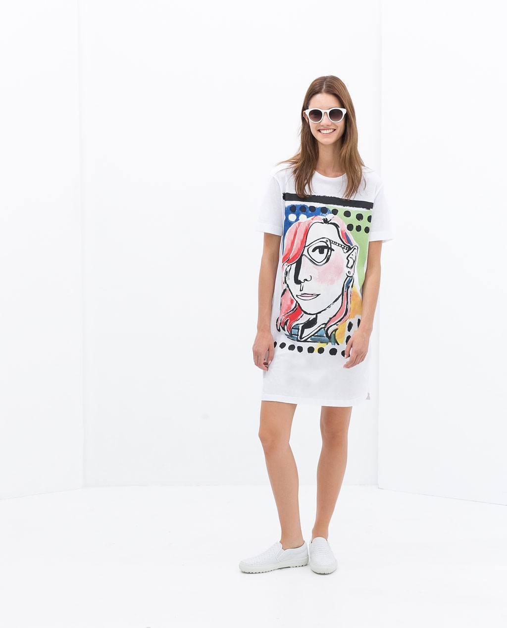 moda-para-adolescentes-verano-2014-vestido-camiseta-de-zara