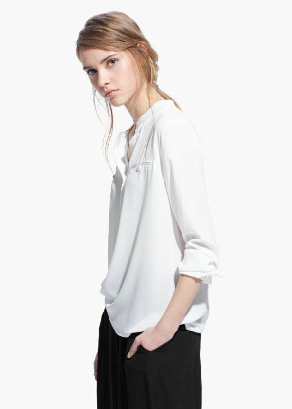 tendencias-camisas-para-mujer-primavera-verano-2015-modelo-mango-blanco-bolsillo