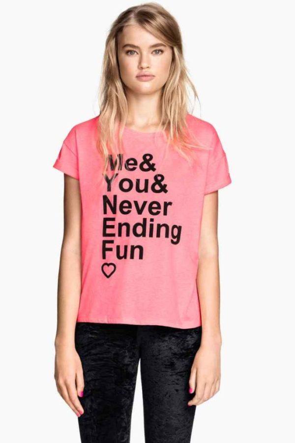 tendencias-camisetas-para-mujer-primavera-verano-2015-H&M-color-rosa