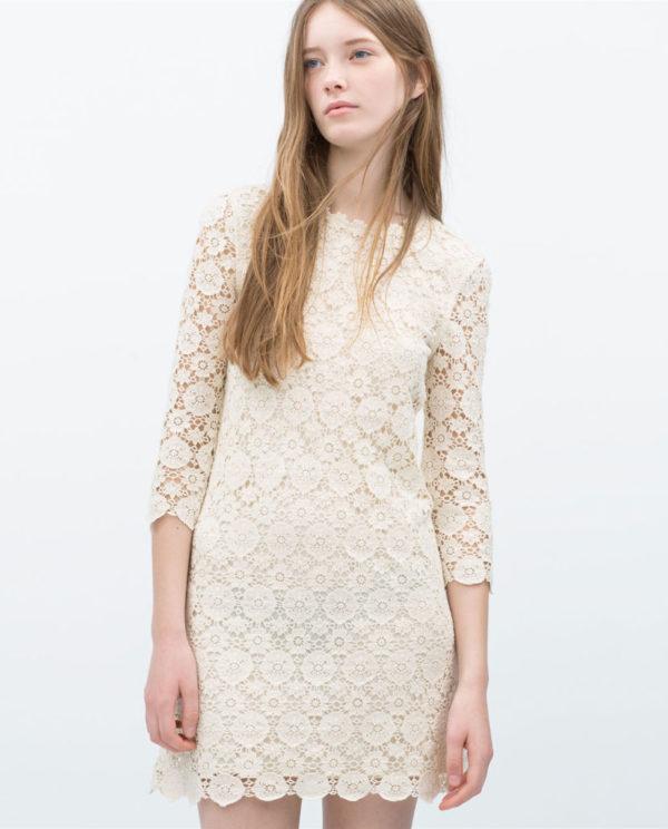 tendencias-vestidos-para-mujer-primavera-verano-2015-modelo-zara-encaje