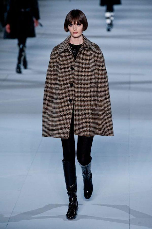catalogo-saint-laurent-mujer-otono-invierno-2014-2015-abrigo-oversize-cuadros