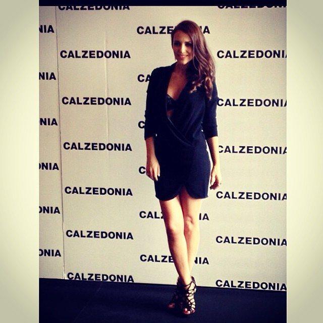 instagram-de-paula-echevarria-vestido-cruzado-evento-calzedonia