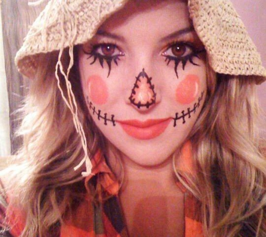 Disfraz casero mujer Halloween 2015
