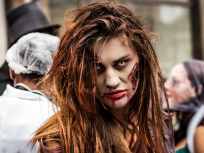 Disfraz de Zombie The Walking Dead para Halloween 2017