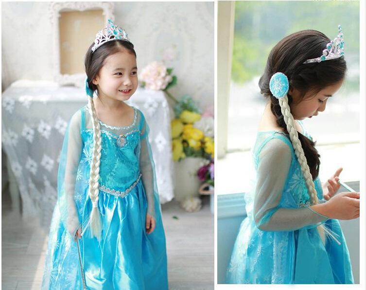 Acogedor peinados divertidos para niña carnaval Imagen De Cortes De Pelo Tendencias - Disfraz Elsa Frozen para niña Halloween 2020 - ModaEllas.com
