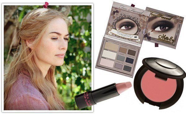disfraz-juego-de-tronos-casero-para-halloween-2014-Cersei-Lannister-maquillaje-pelo