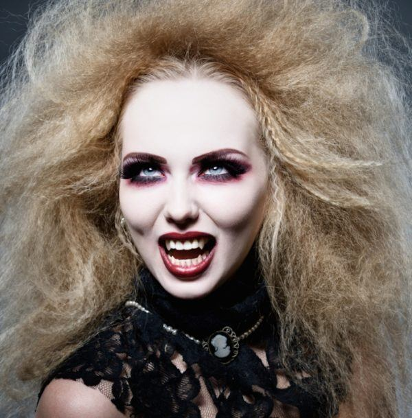 vampire at night