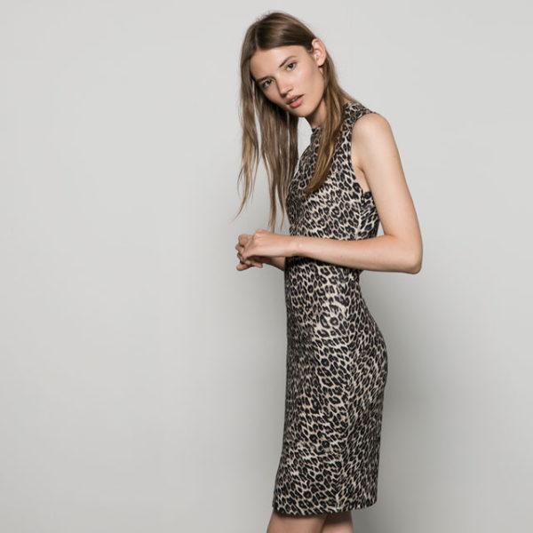 catalogo-bershka-para-mujer-otono-invierno-2015-2016-vestido-animal-print