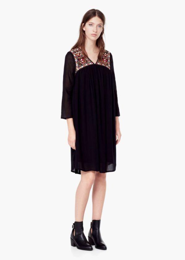 catalogo-mujer-mango-otono-invierno-2015-2016-vestido-negro-espejo