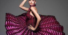 Vestidos reciclados: Algunos ejemplos con galerías de fotos y videos