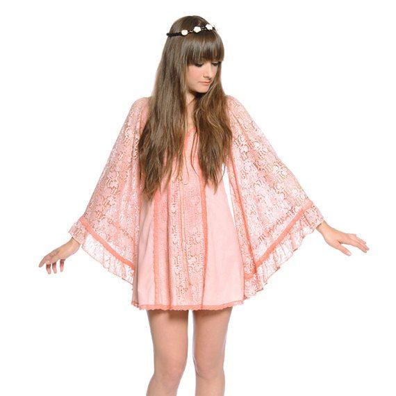 moda-años-70-mini-vestido