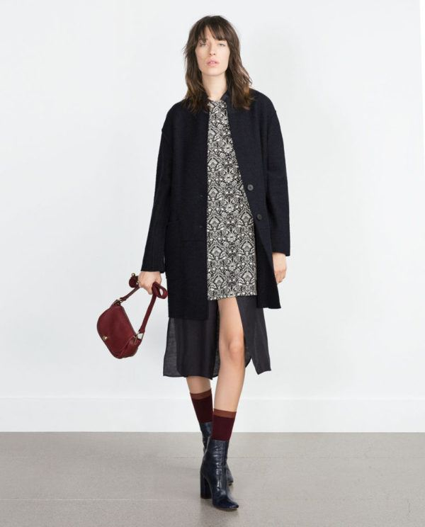 Zara mujer abrigos y chaquetas 2018