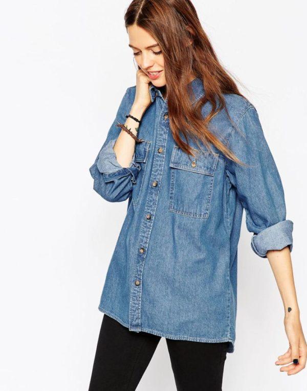 tendencias-de-moda-otono-invierno-2015-2016-blusas-camisetas-camisa-tejana-de-ASOS