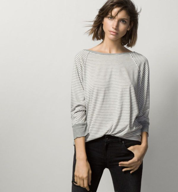 tendencias-de-moda-otono-invierno-2015-2016-blusas-camisetas-modelo-camiseta-rayas-mango