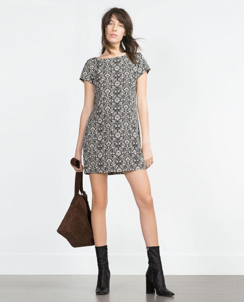 Tendencias de moda otono invierno 2015 2016 vestido zara for Moda premama invierno