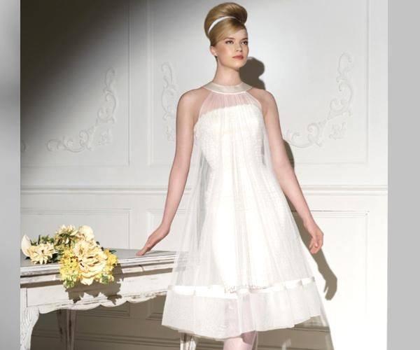 vestidos de novia para embarazadas 2019 - modaellas