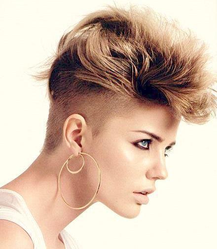 estilo de pelo corto: