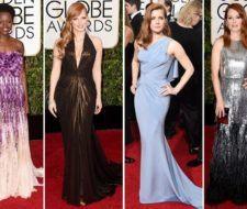 Los mejores estilos y peinados de las famosas en los Globos de Oro 2015
