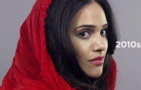 100 años de belleza en menos de 2 minutos – Irán