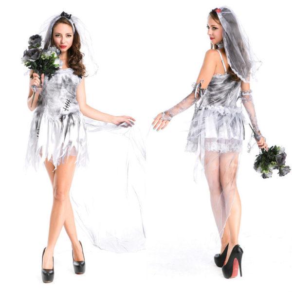 Disfraz de Novia Cadáver para Halloween 2015