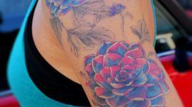 Fotos de tatuajes de la rosa azul