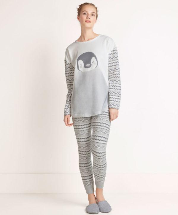 catalogo-oysho-2016-pijama-pasley-gris