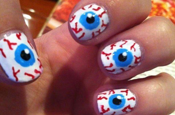 Of 100 Photos Of Nails Halloween 2017 Easy Nail Decoration