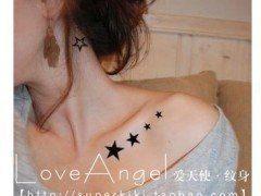 10 tatuajes en la clavícula que te encantarán