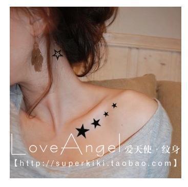tatuaje_clavicula_Estrellas