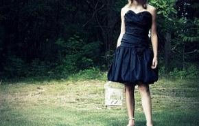 Él clásico vestido negro