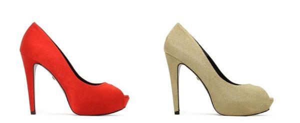 Zapatos para los vestidos de fiesta de Rosa Clara Otoño Invierno 2015-2016