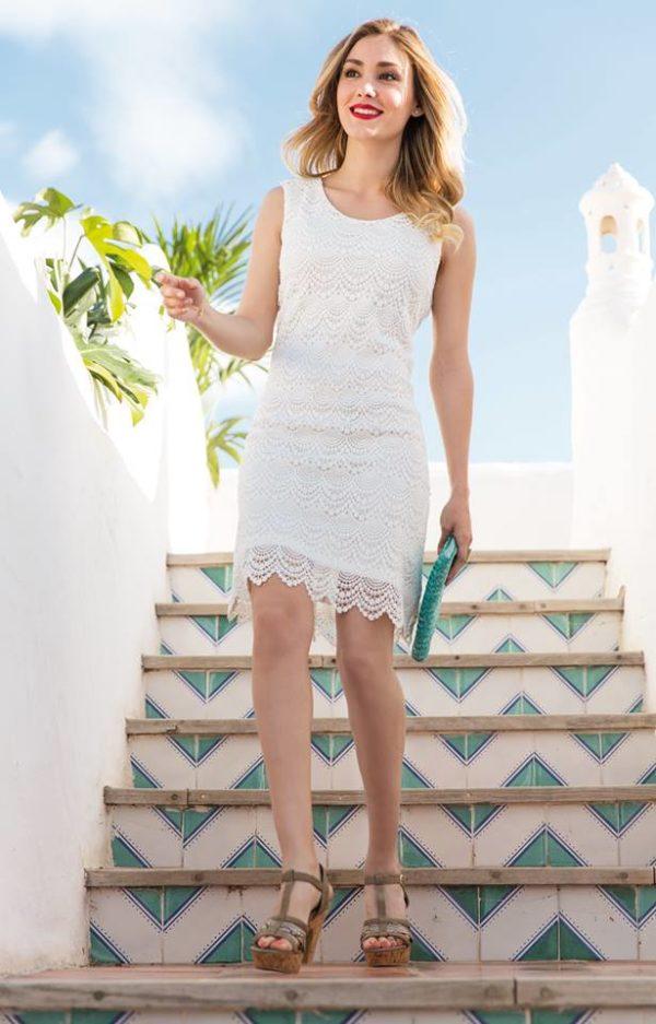 carrefour-rebajas-de-verano-en-ropa-y-calzado-2015-propuestas-vestido-blanco