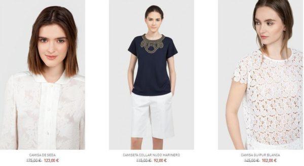 purificacion-garcia-rebajas-mujer-2015-verano-camisas-camisetas