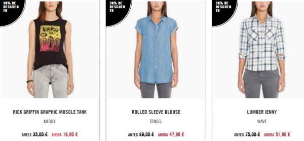 rebajas-levis-de-verano-para-mujer-2015-propuestas-camisetas-camisas