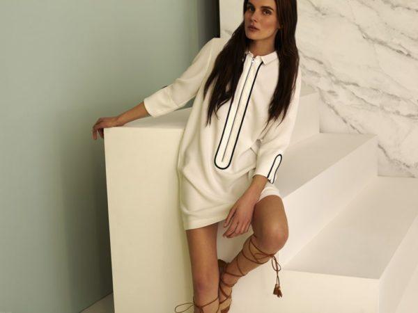 rebajas-sfera-de-verano-para-mujer-2015-vestido-blanco-negro