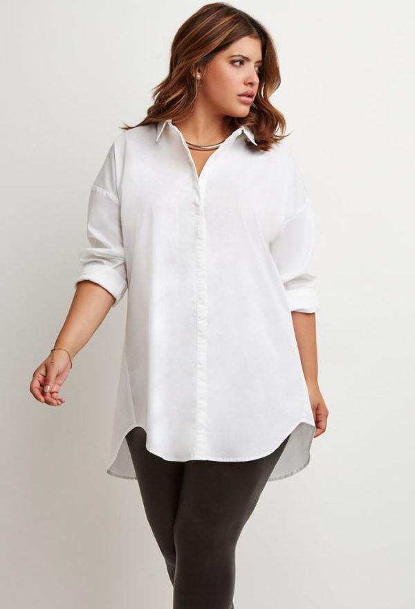 ropa-de-moda-verano-para-gorditas-2015-camisa-oversize-forever-21
