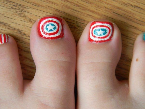 unas-decoradas-para-pies-foot-nails-uñas-capitan-america