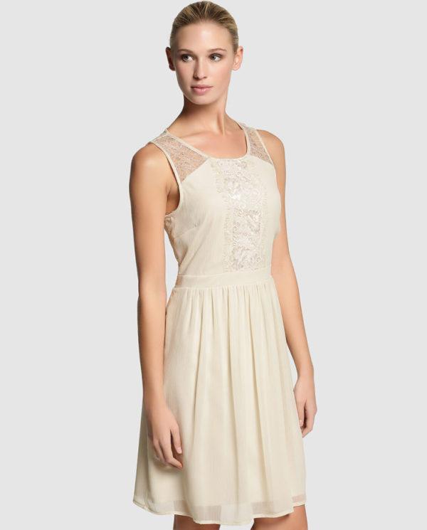 vestidos-coctel-boda-2015-vestido-neutro-bordados-vero-moda